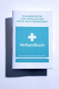 Erste-Hilfe Verbandbuch DIN A5